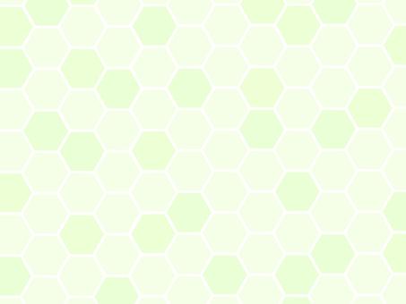 蜂窩蜂箱背景綠色