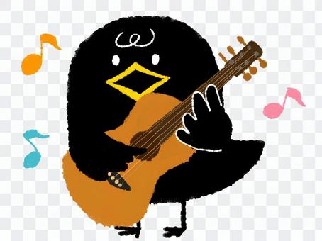 カラス ギター