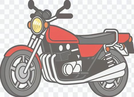 摩托車 - 摩托車分開 - 全身