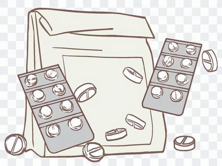 藥物(簡單的顏色)
