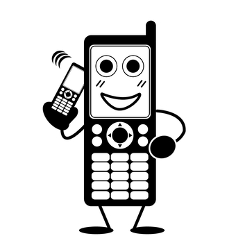 Calling on a mobile phone or mobile phone