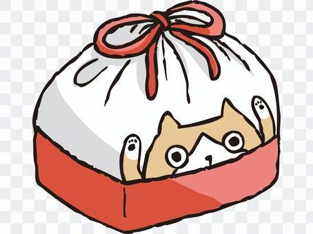 盒裝午餐袋(紅色)