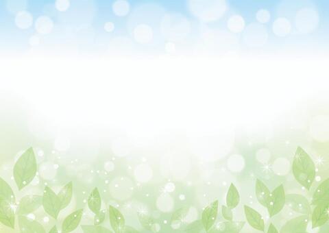 綠葉相框09