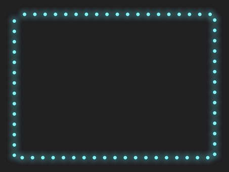 簡單照明框架A:藍色