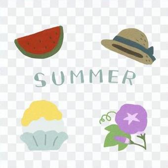夏の詰め合わせ