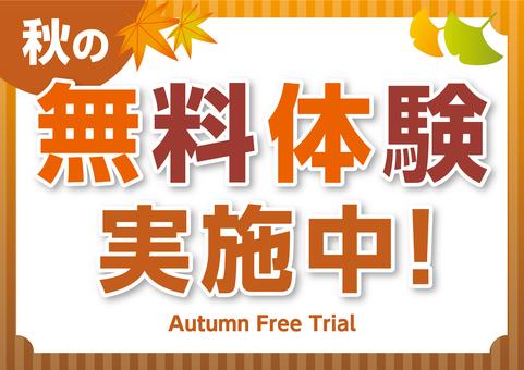 Free Autumn Trial Seminar School