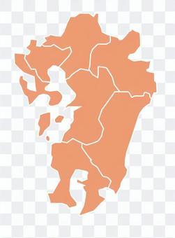Kumamoto Oita Fukuoka Saga Nagasaki Miyazaki Kagoshima