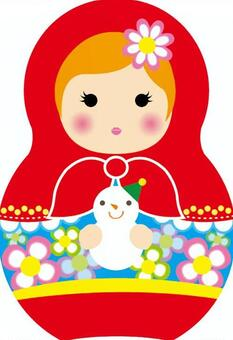 Matryoshka和雪人
