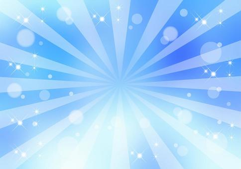 Radial _ blue background