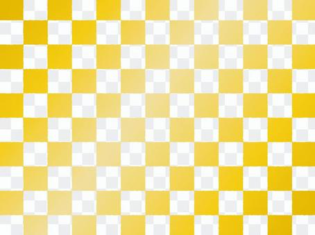 Checker a_ thin gold transparency _ cs
