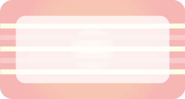 名字密封粉紅色
