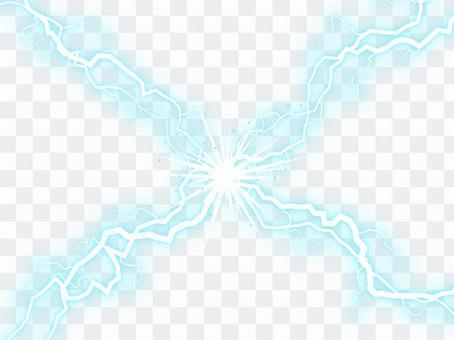 攤牌風閃電_藍色