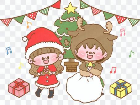 聖誕晚會圖