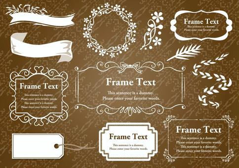 Set Material 006 Luxury Frame