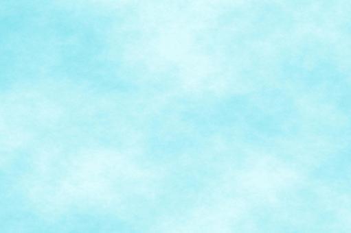 もや 水彩風 空 テクスチャ 青 背景