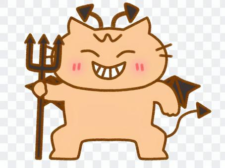 魔鬼茶虎斑貓3