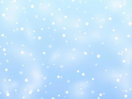 星散背景7 [藍色]