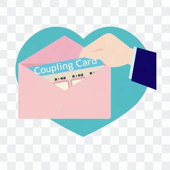 Coupling card