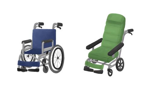 輪椅(自走式/斜倚式)