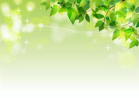 Glitter fresh green (corner)