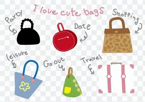 かわいいバッグ
