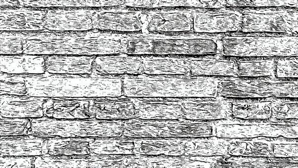 Screen tone style material Masonry 4 Brick
