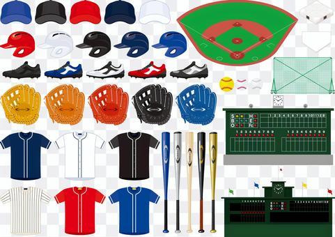 Baseball item set