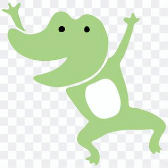 Frog <jump>
