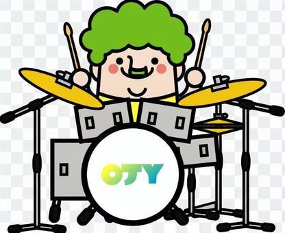 Uncle fairy drummer