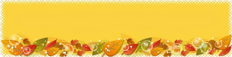 Leaf's banner background