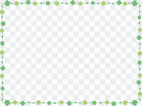 迷你三葉草簡單的框架