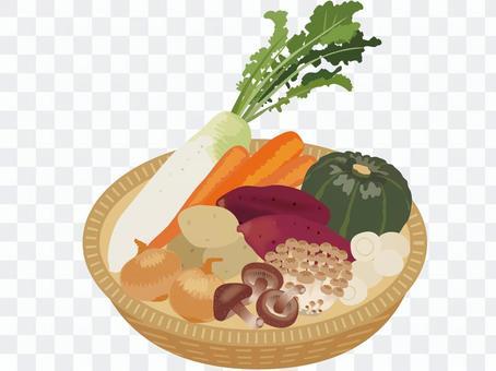 秋天蔬菜_