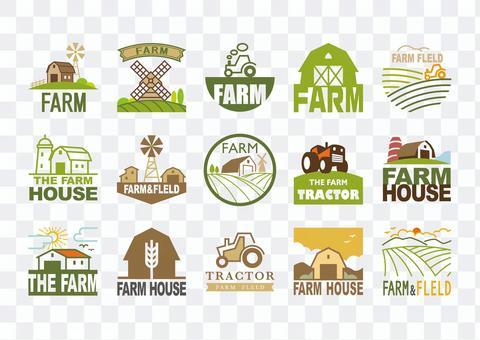 農場標記(彩色)
