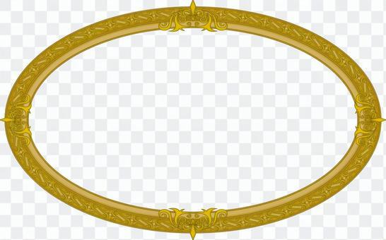 圓的框架金屬