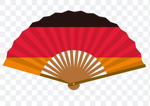 Flag fan illustration_Germany