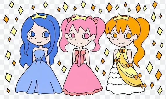 Princess (glitter)