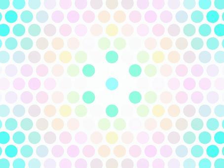 ドット 六角形 パステルカラー 背景