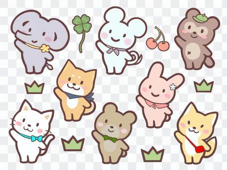 動物插圖集