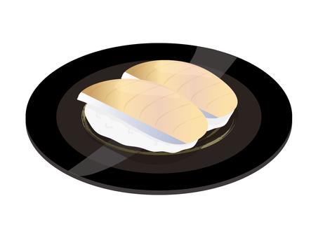鯖魚壽司 2塊