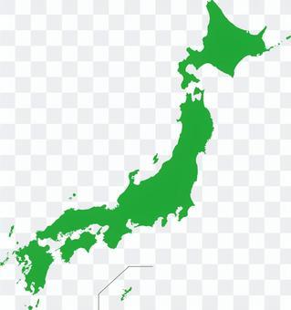 日本地圖☆經典簡約
