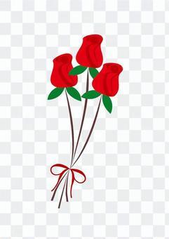 紅玫瑰花束