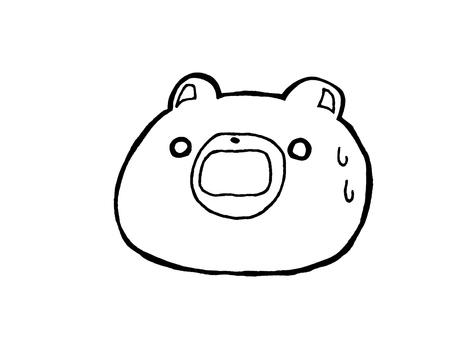 一個令人驚訝的熊1 1