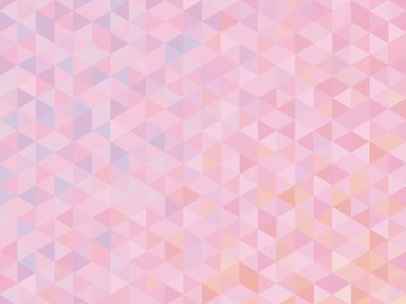 粉紅三角馬賽克