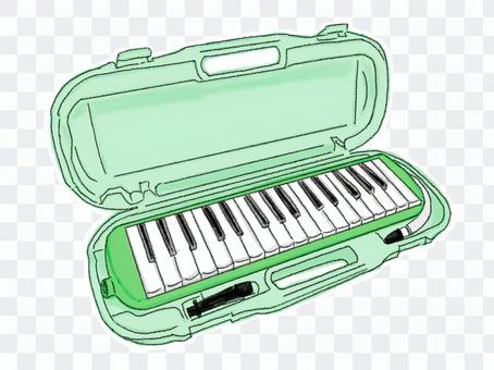 鍵盤口琴10(彩色)