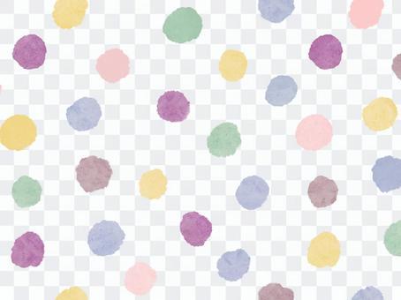 柔和的顏色中的隨機點背景