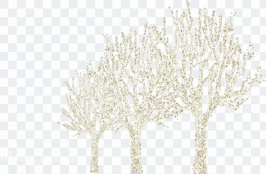 Illuminations of roadside trees 2