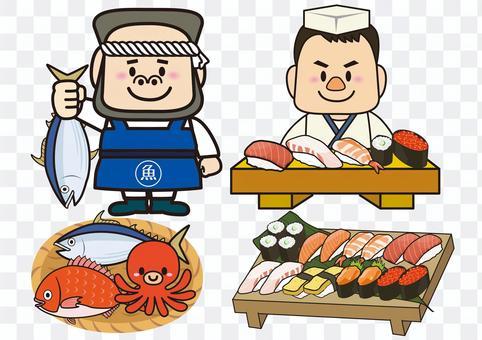 魚販壽司餐廳