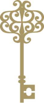 古色古香的鑰匙神
