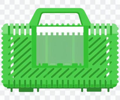 Insect cage plastic case