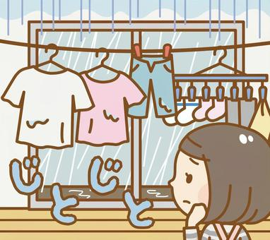 Do not dry laundry